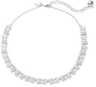 Kate Spade Le Soir Crystal Bow Necklace