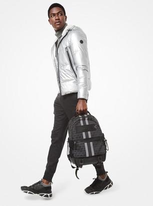 Michael Kors Metallic Puffer Jacket