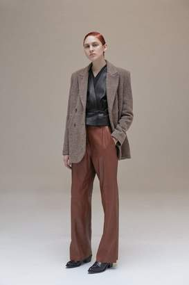 Veda Bess Leather Trouser Saddle