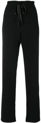 The Row paper bag waist trousers
