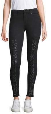 True Religion Jennie Curvy Skinny Lace-Up Jeans