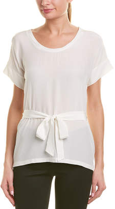 Reiss Bonn Silk T-Shirt