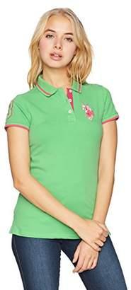 U.S. Polo Assn. Women's Multicolor Pique Shirt