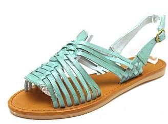 Mia Heritage Budapest Women US 8 Blue Gladiator Sandal