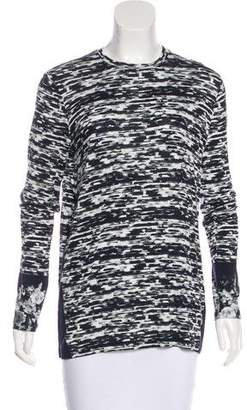 Prabal Gurung Printed Scoop Neck Top
