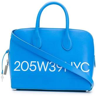 b2cdd8e4ac2 Calvin Klein Blue Top Handle Handbags - ShopStyle