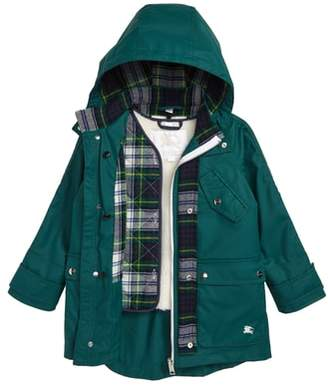 Burberry Liam Hooded Coat