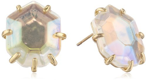Kendra Scott Morgan Iridescent Glass Stud Earrings