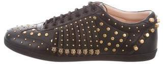 Gucci 2017 Studded Low-Top Sneakers