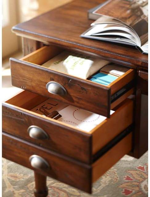 Pottery Barn Printer's Office Suite, Tuscan Chestnut