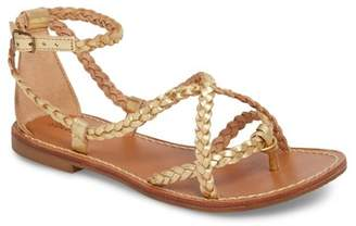 Soludos Amalfi Braided Metallic Sandal (Women)
