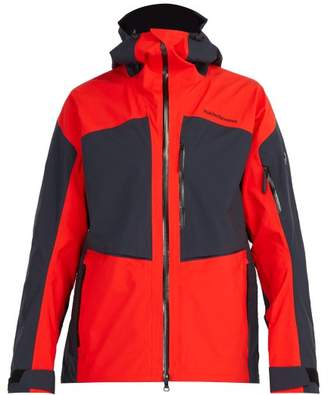 Peak Performance Gravity Goretex Ski Jacket - Mens - Red Multi