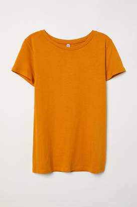 H&M T-shirt - Yellow