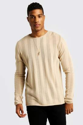 boohoo Crew Neck Knitted Sweater
