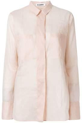 Jil Sander longsleeved pocket shirt