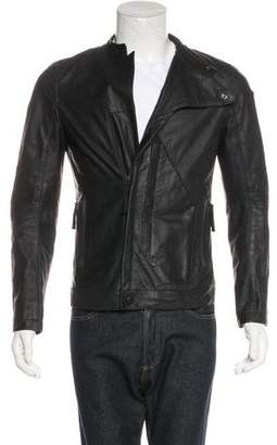 Helmut Lang Dispatch Genuine Leather Jacket