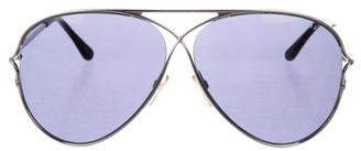 Tom Ford Aviator Tinted Sunglasses