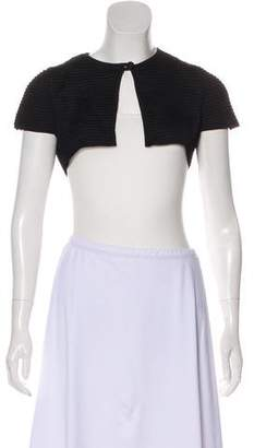 Valentino Short Sleeve Knit Shrug