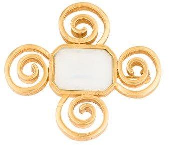 GivenchyGivenchy Swirl Brooch