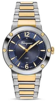 Salvatore Ferragamo F-80 Watch, 34mm