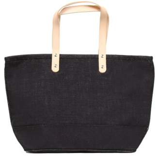 Cathy's Concepts 'Nantucket' Monogram Jute Tote