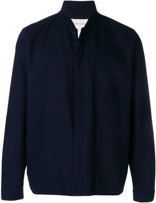 Stephan Schneider buttoned up bomber jacket