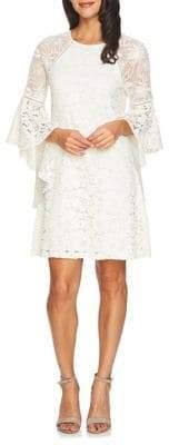 Cynthia Steffe Keira Floral Lace Mesh Combo Shift Dress