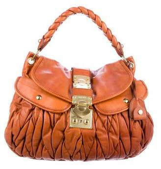 Miu Miu Matelassé Coffer Bag