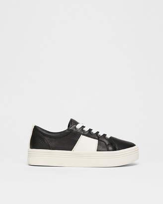 Express Dolce Vita Tavina Leather Sneakers