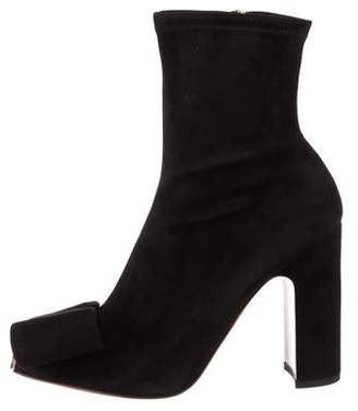 Valentino Suede Ankle Boots w/ Tags