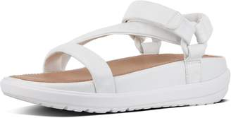 FitFlop Loosh Luxe Z-Strap Leather Sandals