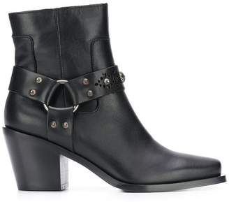 Pinko Carrara ankle boots