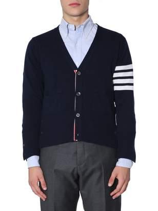 Thom Browne V Collar Cashmere Cardigan