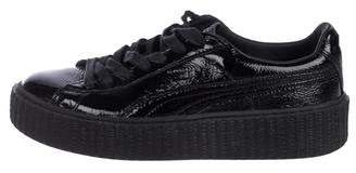 FENTY PUMA by Rihanna Patent Leather Creeper Sneakers