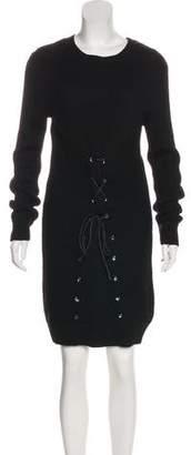 Thakoon Wool Blend Midi Dress