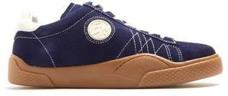 Eytys Wave Low Top Suede Trainers - Mens - Navy