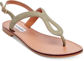 Steve Madden Women's Takeaway Flat Sandals $59 thestylecure.com