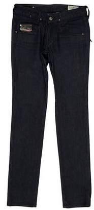 Diesel Mid-Rise Skinny Jeans