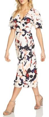 Women's 1.state Floral Wrap Midi Dress $139 thestylecure.com