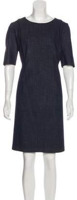 HUGO BOSS Boss by Wool Mini Dress
