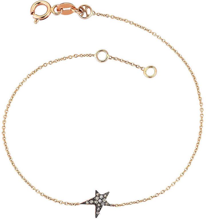 The Alkemistry Kismet by Milka champagne 14ct rose-gold bracelet