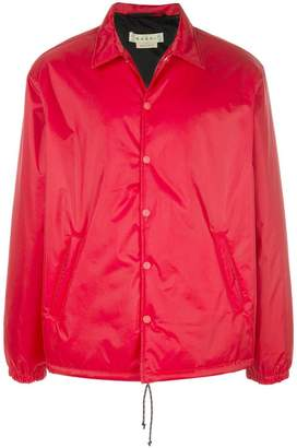 Marni snap-button bomber jacket