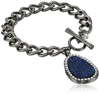 Kenneth Cole New York Druzy Toggle Charm Bracelet