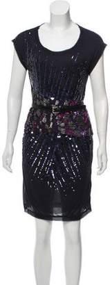 Bottega Veneta Sequined Sleeveless Dress