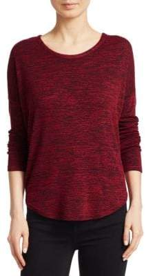 Rag & Bone Hudson Cotton Jersey Long Sleeve Top