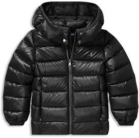 Ralph Lauren Girls' Puffer Jacket - Little Kid