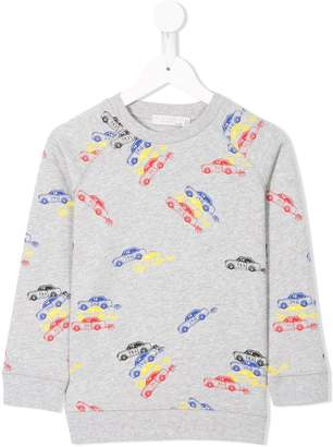 Stella McCartney cars print sweatshirt