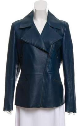 Fendi Leather Biker Jacket