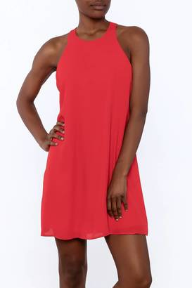 Everly Ruffle Back Dress $69 thestylecure.com