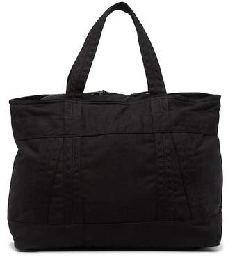 AllSaints Tour Cow Leather Trim Weekend Tote Bag